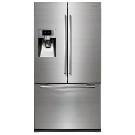 stainless steel door refrigerator samsung door stainless refrigerator sears outlet
