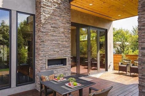 desain rumah  dapur outdoor rancangan desain rumah
