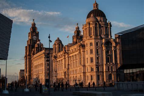 Liverpool England Landmarks