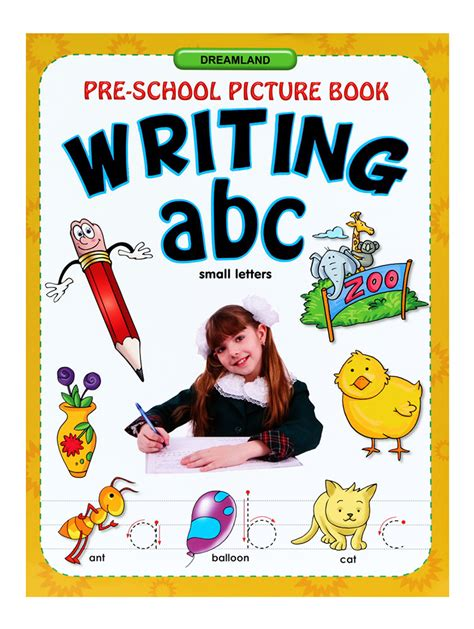 Buy Preschool Picture Book Writing Abc (small Letters) Online In India • Kheliya Toys