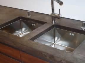 betonarbeitsplatte küche beton arbeitsplatte dockarm