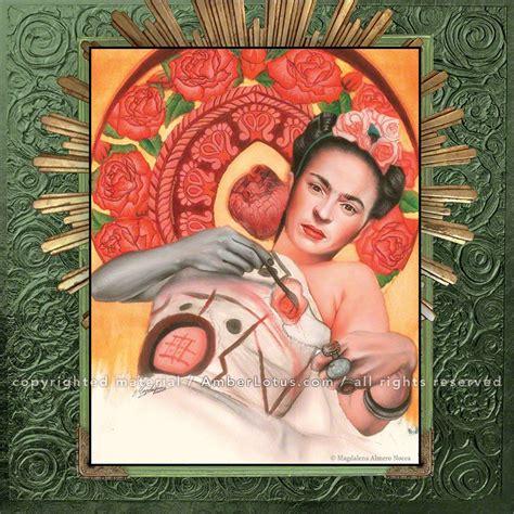 love frida wall calendar fantasy pop art art