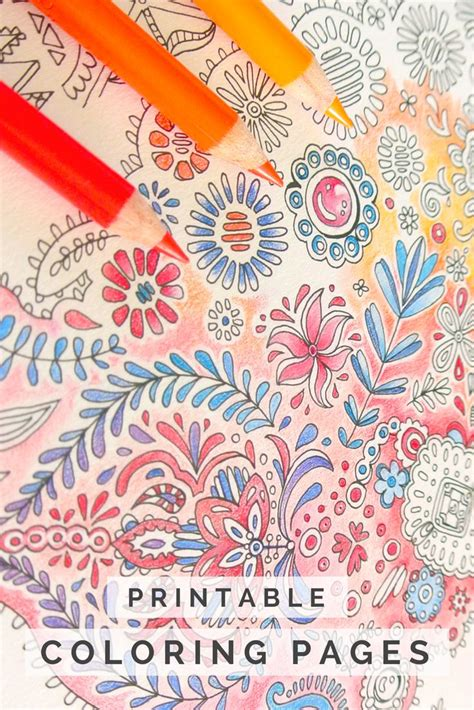 424 best coloring printable coloring pages for adults