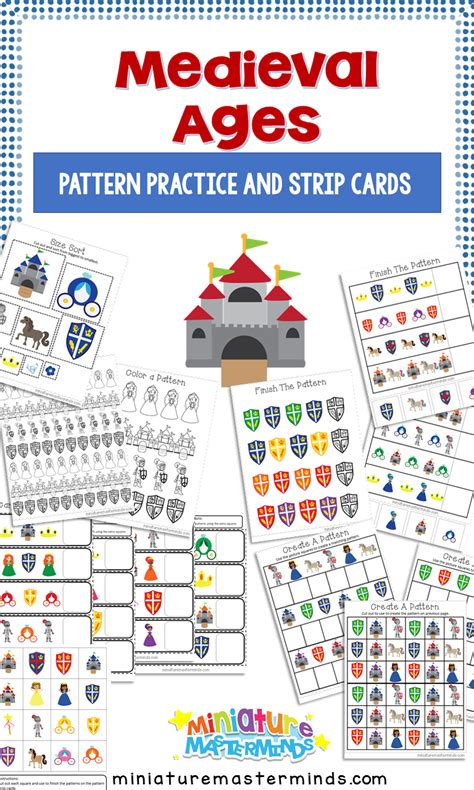 preschool books about patterns card books miniature masterminds 588