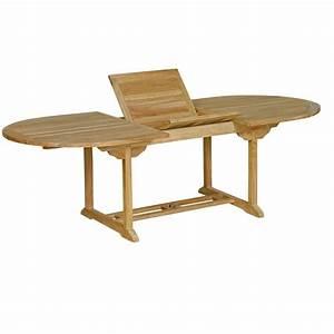 Table En Teck Jardin : table de jardin en teck massif naturel 10 places ~ Dailycaller-alerts.com Idées de Décoration