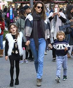 Alessandra Ambrosio parades her long legs in super short ...