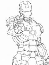 Coloring Man Pages Muscle Printable Ironman Iron Marvel Print Getcolorings sketch template