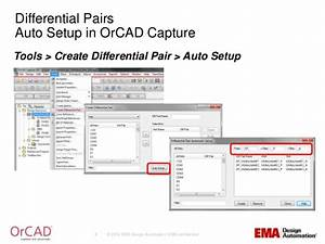 orcad constraint driven design flow With orcad capture