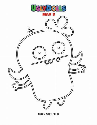 Coloring Pages Ugly Dolls Dog Printable Pdf