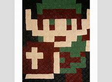 Custom Pixelated Afghan – Link – GeekAlerts