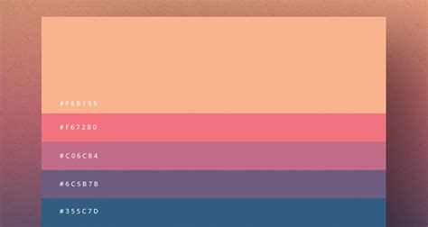 color pallete 8 beautiful color palettes for your next design project