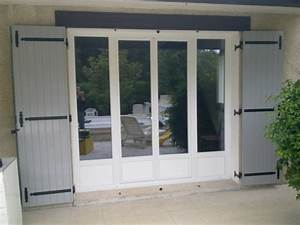 portes fenetre pvc deux vantaux fixes grosfillex a With porte de garage coulissante et porte interieur 2 battants