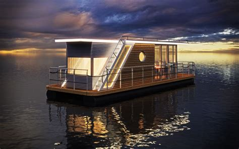 Houseboats Designs by Nautilus Modern Houseboats