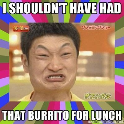 Asian Meme Face - asian game face i shouldn t have had that burrito for lunch my ᗰᙓᙢᗴᔕ pinterest