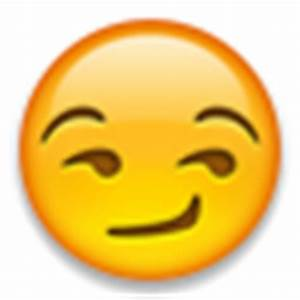 Smirking Face - iPhone, Android, Twitter, & Facebook Emojis