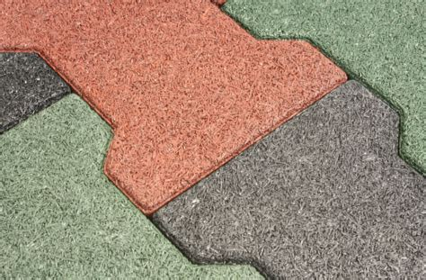 rubber pavers recycled rubber tiles for outdoor use