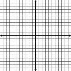 Blank Coordinate Grid With Grid Lines Shown  Clipart Etc