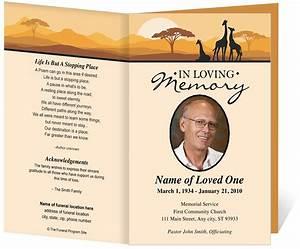 Funeral program templates e commercewordpress for Funeral leaflet template
