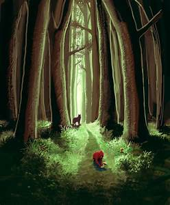 Little Red Riding Hood by OSW on DeviantArt