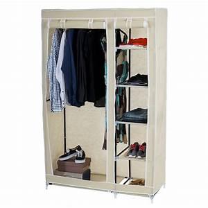 Schrank Aus Stoff : faltschrank stoffschrank campingschrank kleiderschrank 173x110x45cm ebay ~ Markanthonyermac.com Haus und Dekorationen
