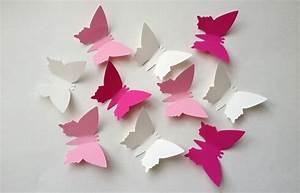 Schmetterlinge Aus Papier : flatternde fr hlingsdeko schmetterlinge auf dem tisch ~ Lizthompson.info Haus und Dekorationen