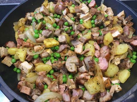schnelle kartoffel rezepte schnelle kartoffel bratwurst pfanne barbara111 chefkoch de