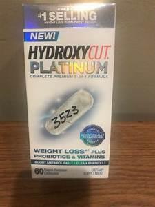 Hydroxycut Platinum Weight Loss Dietary Supplement