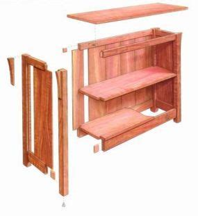 Arts And Crafts Bookcase Plans - free plan arts and crafts bookcase woodworking