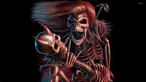 Animal Skeleton Wallpaper - scary skeleton wallpaper 66 images