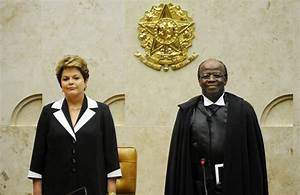 Brazil swears in nation's first black Supreme Court ...