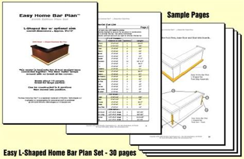 l shaped bar plans free free l shaped bar plans how to build diy woodworking