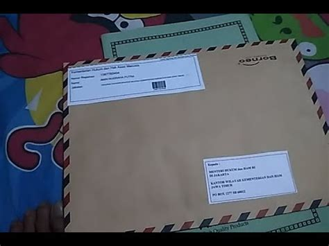 Contoh Surat Lamaran Cpns Kemenristek by Berkas Lamaran Cpns Yang Kita Kirim Melalui Pos
