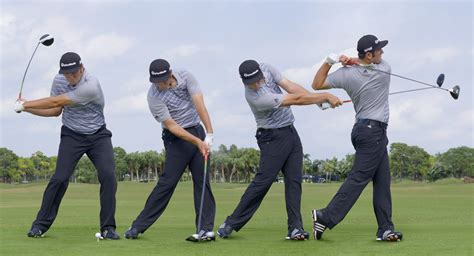 Golf Swing Sequence by Swing Sequence Jon Rahm