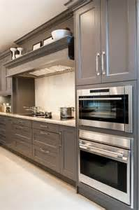 gray shaker kitchen cabinets design ideas
