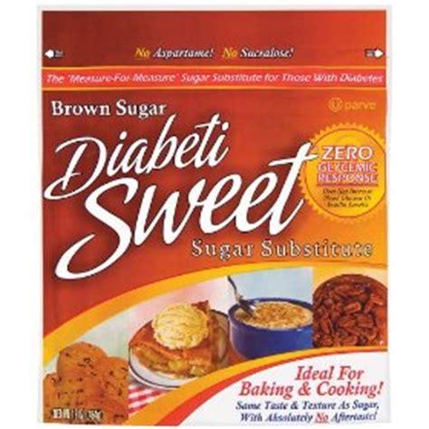 substitute for brown sugar diabetisweet brown sugar substitute 16 oz