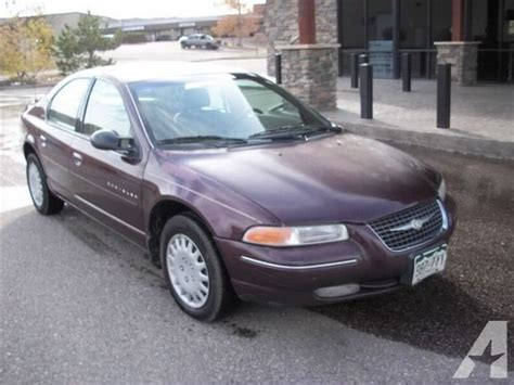 1999 Chrysler Cirrus Lxi by 1999 Chrysler Cirrus Lxi For Sale In Castle Rock Colorado