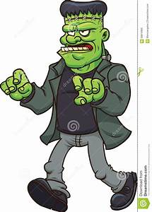 Cartoon Frankenstein stock vector. Illustration of monster ...