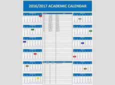 20162017 School Calendar Templates Microsoft and Open