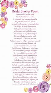 155 best images about bride groom wedding shower ideas on With wedding shower poems