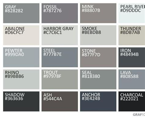 pantone colors  names google search   grey