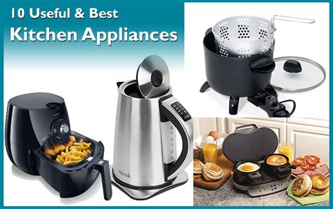 Must Have Kitchen Appliances For