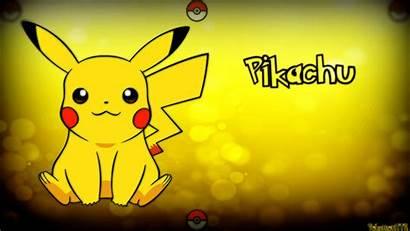 Pikachu Pokemon Wallpapers Laptop Surprised Backgrounds 4k