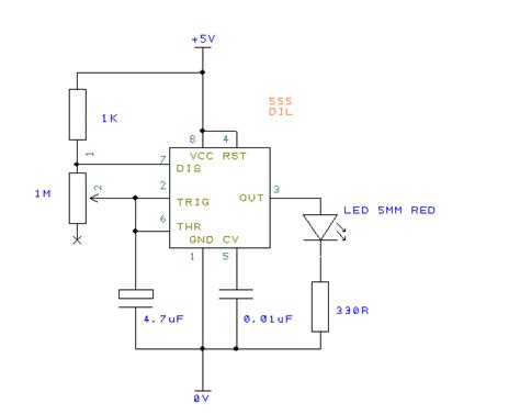 Simple Led Flasher Circuit Using Timer Best Soldering