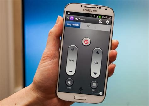 how to use a galaxy s4 as a universal remote cio