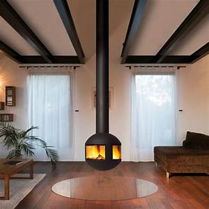 Poele Suspendu Design : chemin es design centrales focus ~ Melissatoandfro.com Idées de Décoration