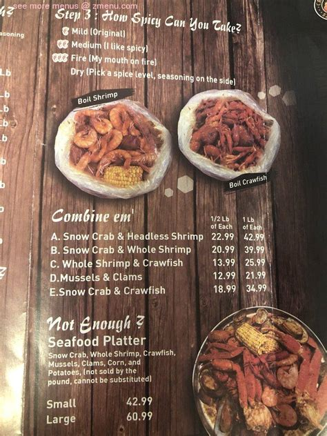 menu  crafty crab restaurant altamonte springs