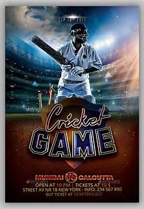 15 cricket flyer templates free premium psd vector