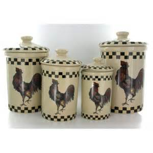 country kitchen canister sets kitchen rooster canister set of 4 country style
