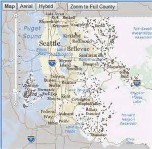 King County Public Lands Map