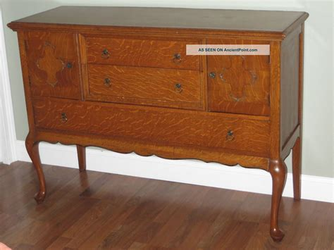 Furniture Antique Tiger Oak Furniture Sideboards Buffets
